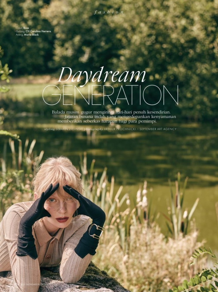 USTYNA DRUL for ELLE INDONESIA