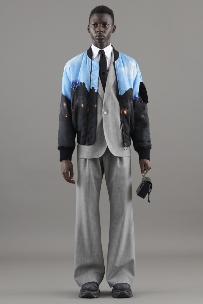 THIAM TAMSIR for Off-White Resort 2021 Men's Lookbook