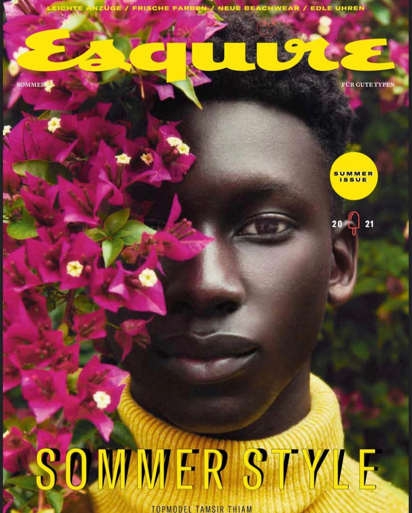 THIAM TAMSIR for ESQUIRE GERMANY