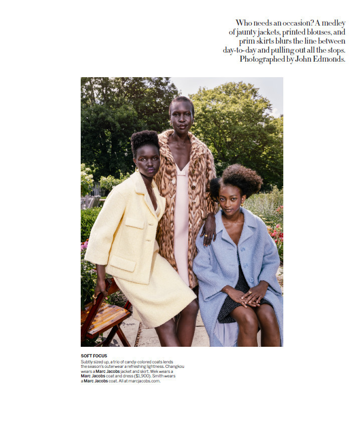 AKON CHANGKOU for AMERICAN VOGUE (September Issue)