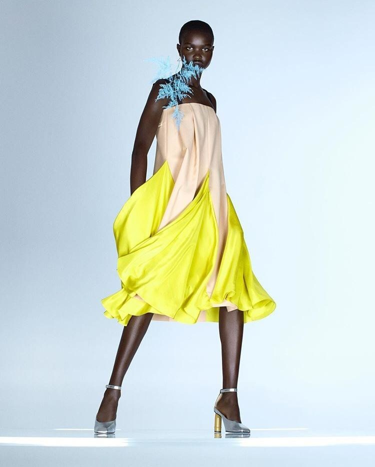 AKON CHANGKOU for NINA RICCI SS21