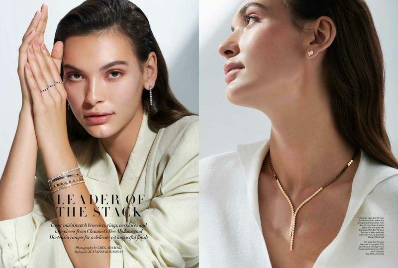 NASTYA NOCHNA for Harper's Bazaar Arabia