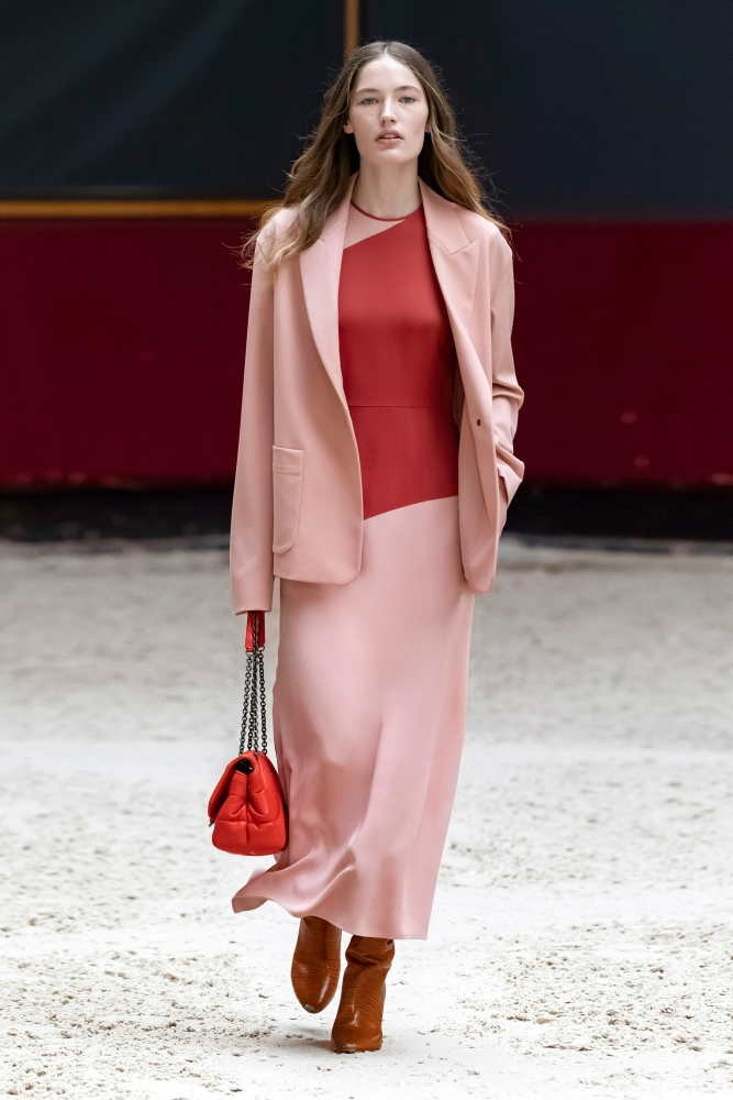 GEMMA BURNETT for LONGCHAMP FALL 2021