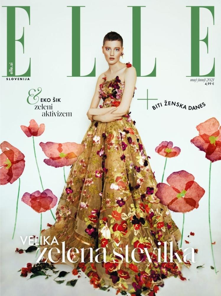 LINA HOSS for Elle Slovenia