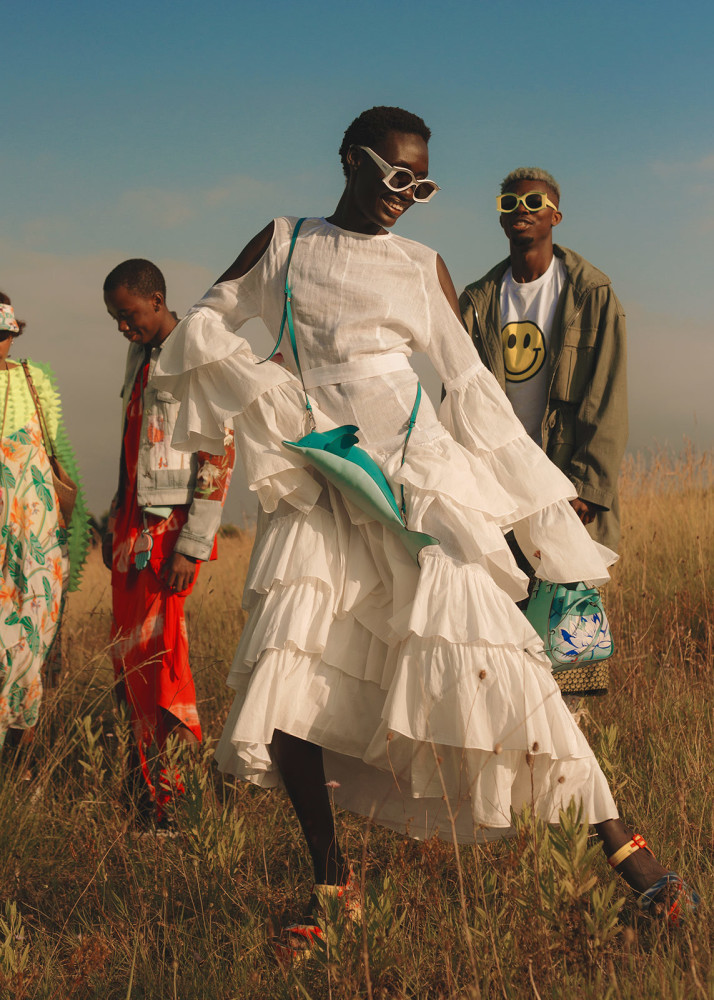 ANYON ASOLA  for METAL MAGAZINE X LOEWE