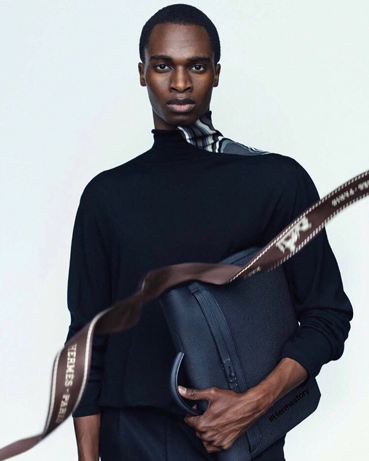 BAKAY DIABY for Hermès FW/20 Campaign