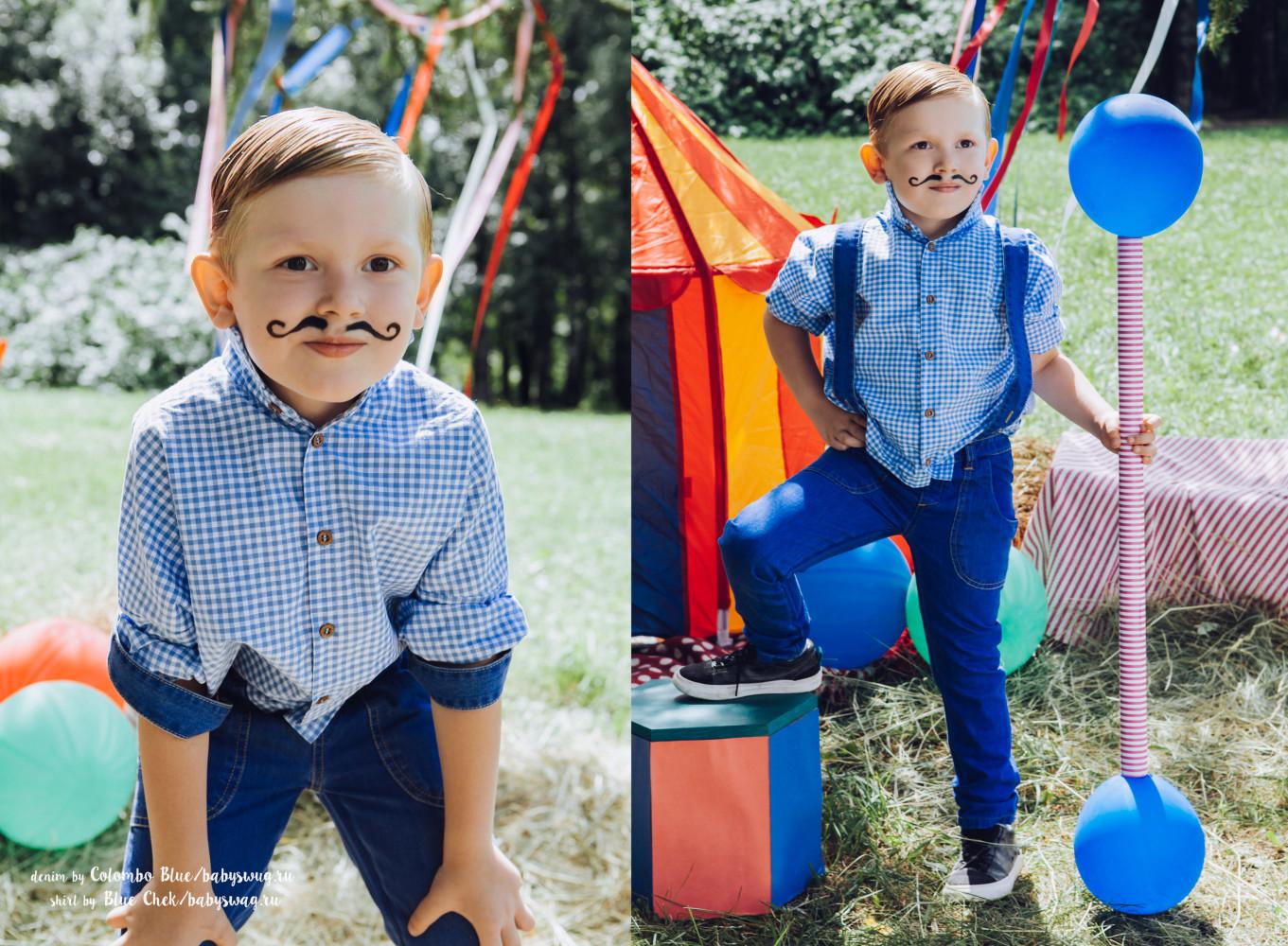 Circus king ! Новые яркие работы наших моделей!