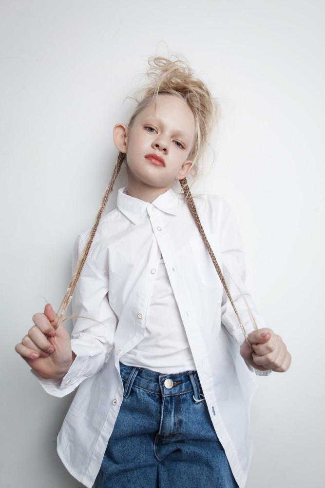 Самые стильные детские прически в нашей новой съемке с Лизой Щукиной !