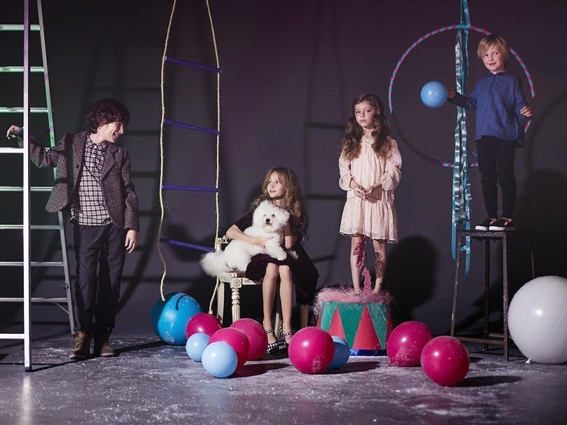 Специальная новогодняя съемка Posta-Magazine с моделями UltraKids!