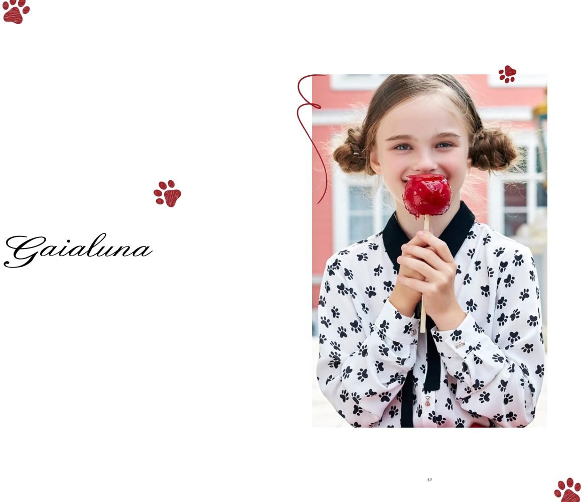 Новая работа нашей продакшн команды для итальянского бренда GaiaLuna