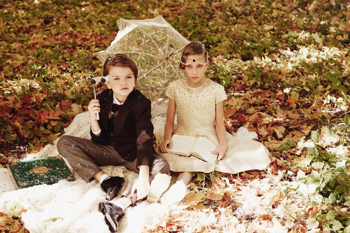 Осенняя съемка для Дочки-Матери