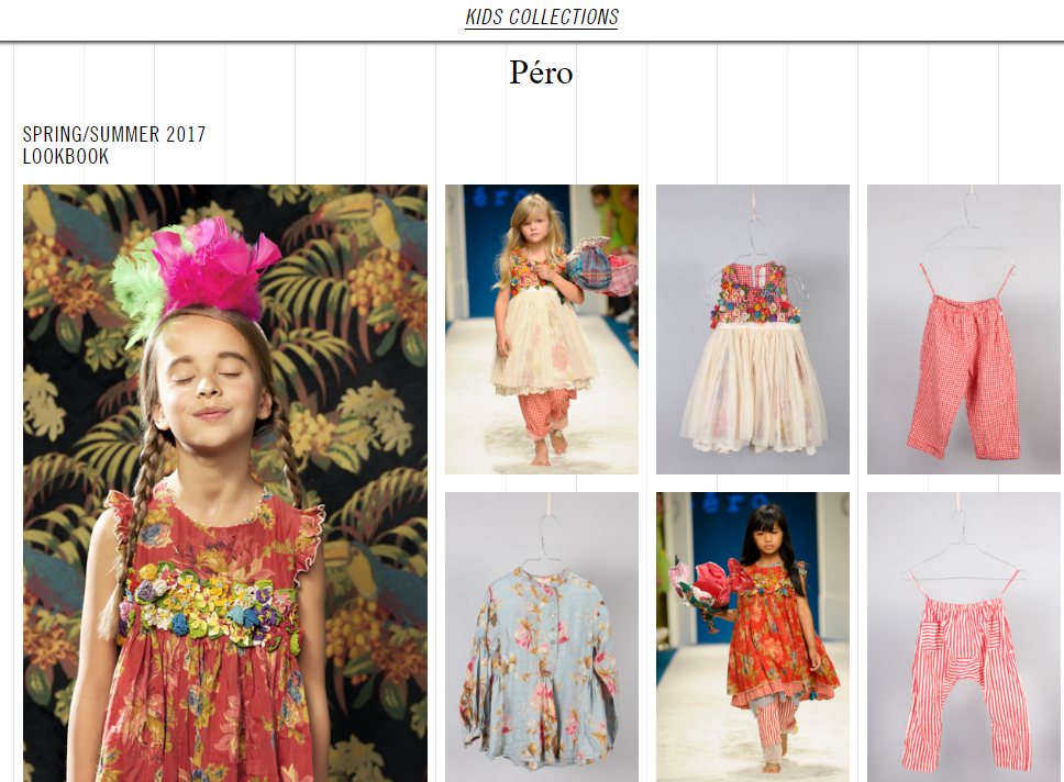 Новое лицо детского бренда PERO!
