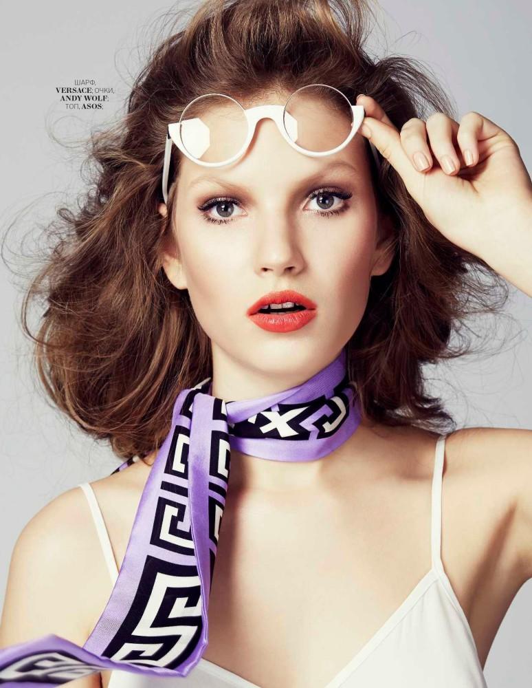 Annabel Krasnotsvetova for Marie Claire 05/2016