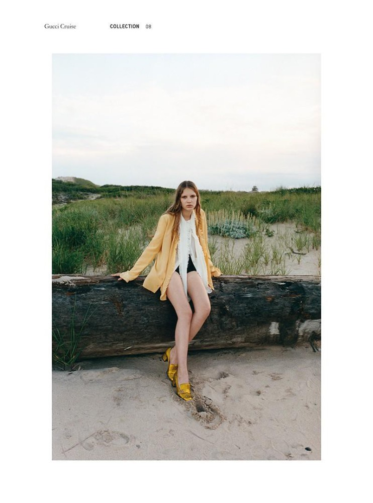 ANABEL for GUCCI Cruise Collection (Muse Magazine)