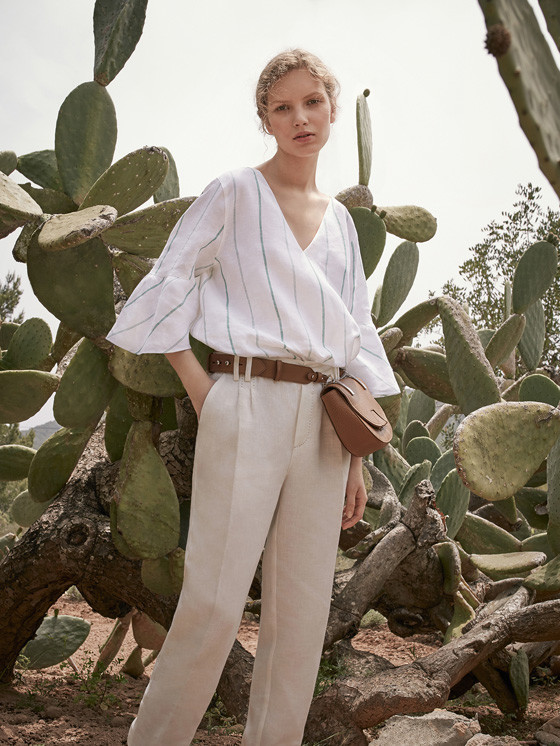 Anabel for Massimo Dutti / lookbook 2017