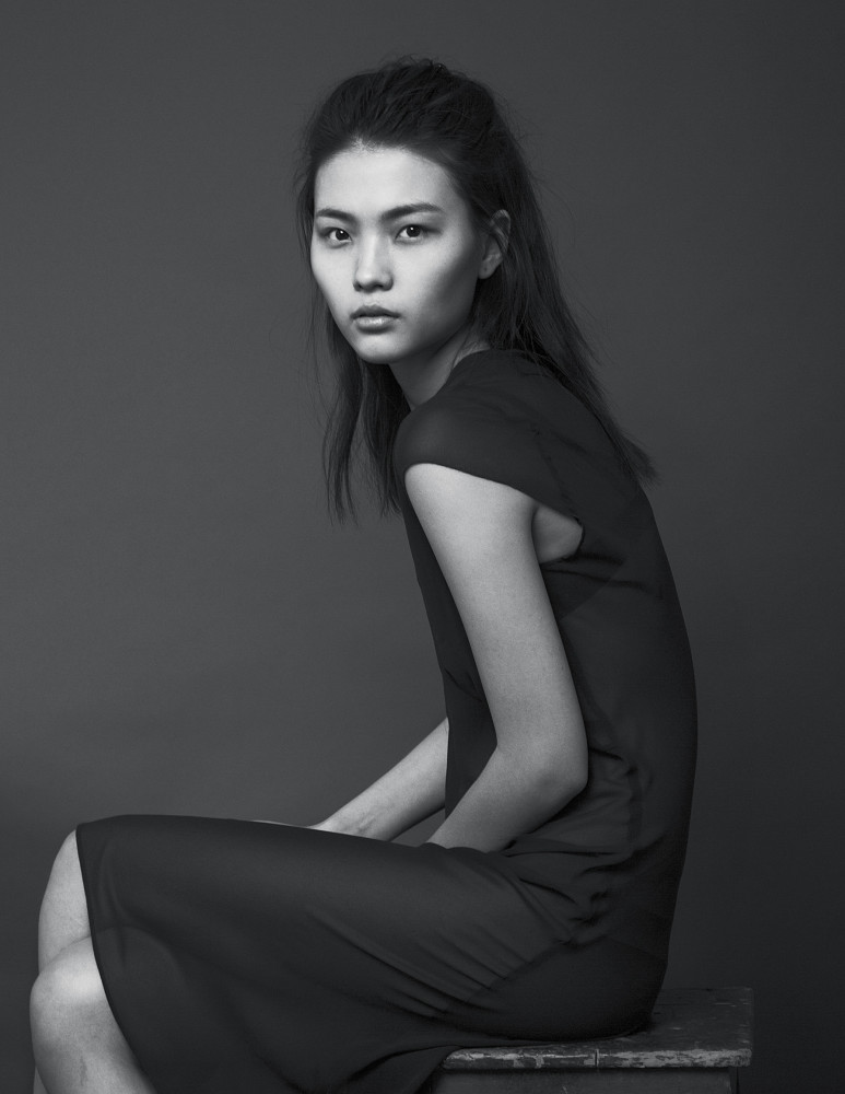 Mongolian girl Marat - our new face!
