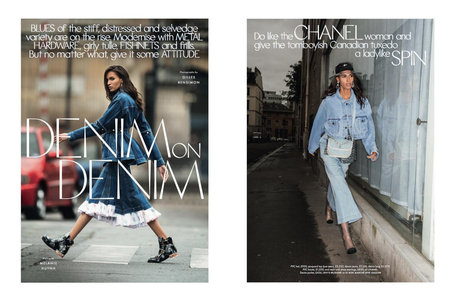 Meloso kiwi el centro comercial  Cindy Bruna for Elle UK | Uno models Barcelona & Madrid