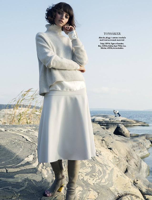 REBECA MARCOS for ELLE SWEDEN. | Uno models Barcelona & Madrid