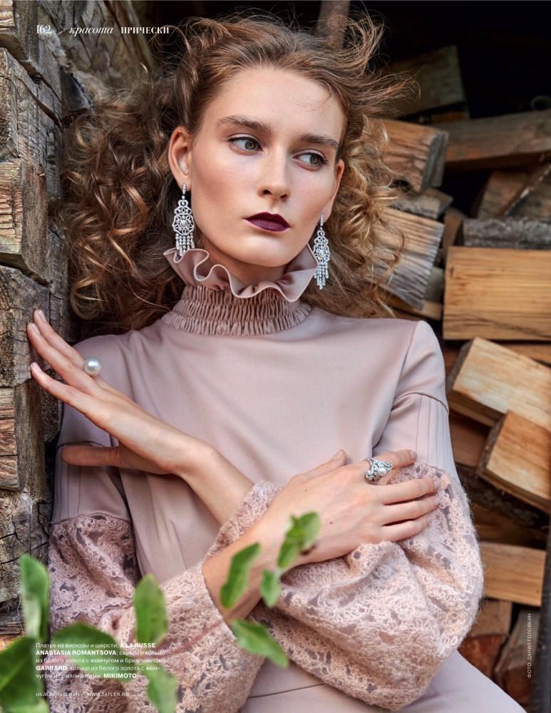Behind Elenas Models Russian