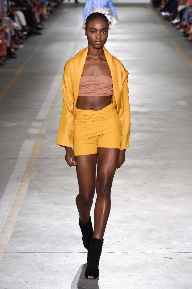 1b52efd13d330 Olamide Ogundele in Milan Fashion Week SS 19