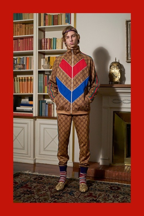 673aeb36 Photographer: Peter Schlesinger. Levi Overvesten for Gucci Pre-Fall 2018  Collection
