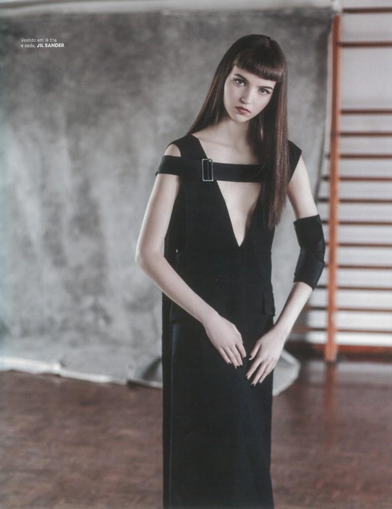maria clara for vogue uno models barcelona madrid