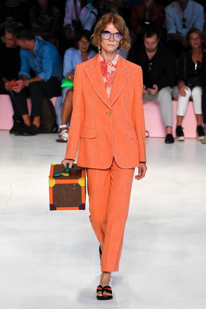 644b74bd26b56 Irina Kravchenko in Milan Fashion Week SS 19