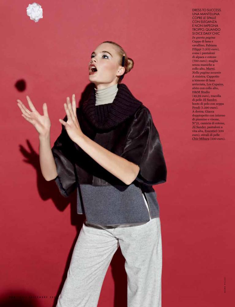 Isabel scholten for elle italy uno models barcelona madrid for Elle italia