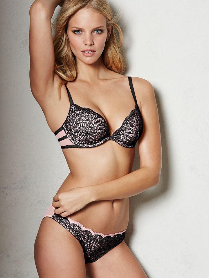 fc8b5d113 Marloes Horst for Victoria s Secret Lingerie