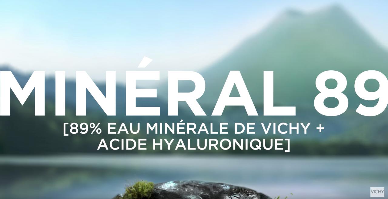 VICHY 89 Mineral / Moon / Prudence / Julie