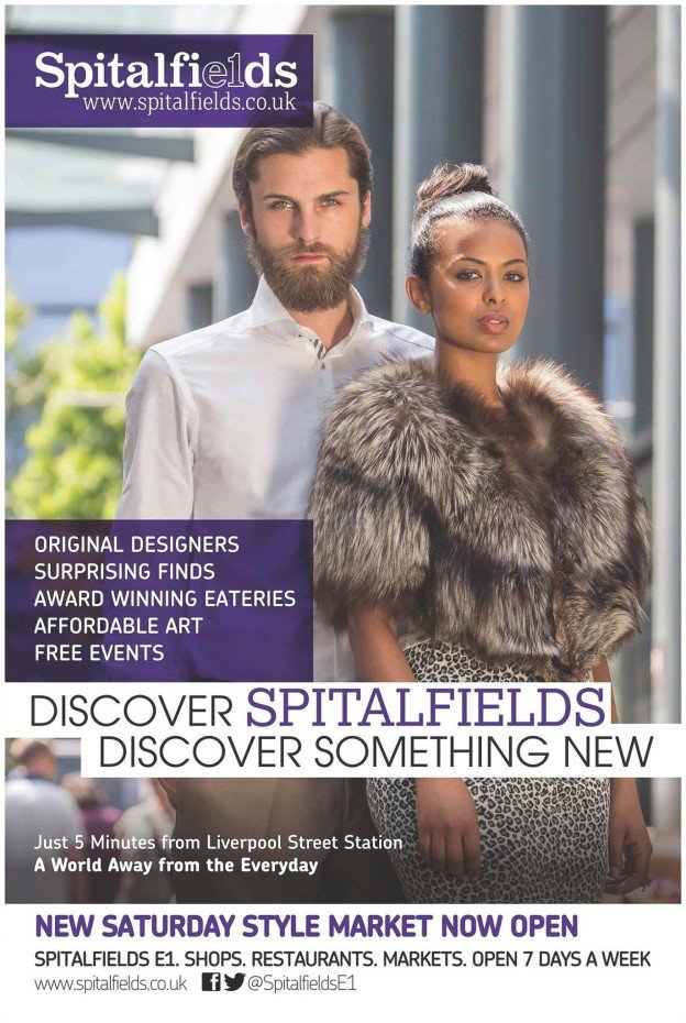 DELINA for SPITALFIELDS